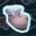 毛皮のブーツ