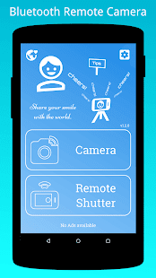 Bluetooth Remote Camera Screenshot