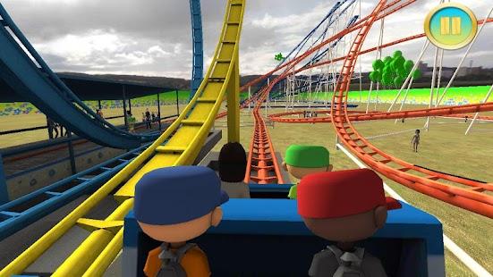 3 Real Roller Coaster Simulator App screenshot