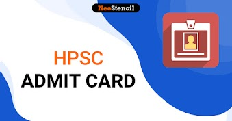 HPSC Admit Card 2020 -  Download Haryana PSC Hall Ticket