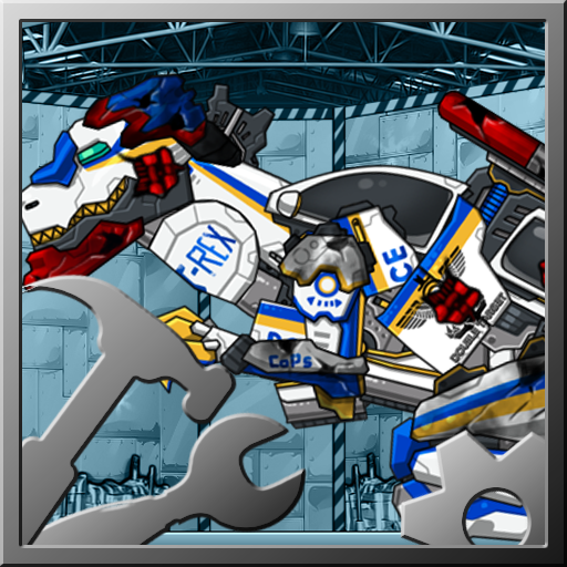 Repair! Dino Robot-T-rex cops 休閒 App LOGO-硬是要APP
