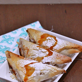 Apple Turnovers with Phyllo (Filo) Pastry Sheets Recipe