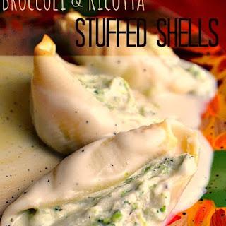 Broccoli & Ricotta Stuffed Shells.