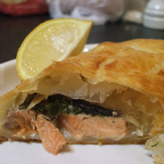 Salmon and Dill Parcels