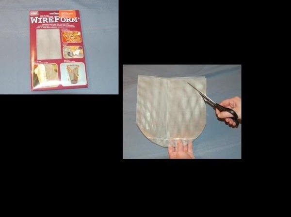 Cut a nine inch circle from the wire mesh. Be careful while cutting and...