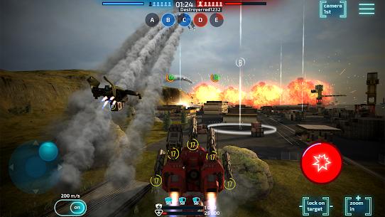 Robot Warfare Apk Mod Munição Infinita 8