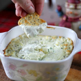 Creamy Baked Blue Cheese Dip.