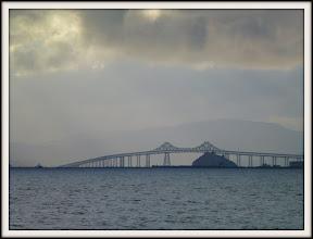 Photo: Richmond-San Rafael Bridge; Red Rock