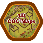 Clash of Clans 3D Maps | Bases