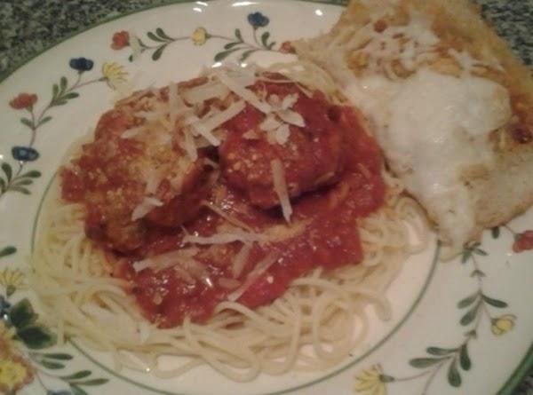 Spaghetti Sauce And Meatballs Recipe