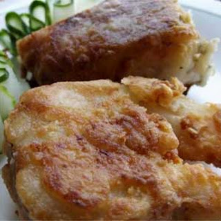 Easy and Simple Fried Pike with Garlic