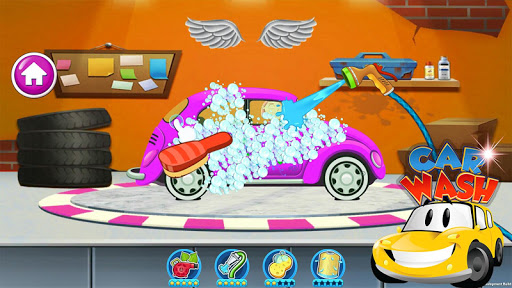 Car wash games kids - Washing Lavaggio FREE 4.0 screenshots 1