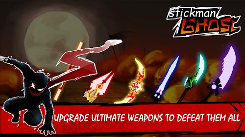 Screenshot 2 Stickman Ghost: Ninja Warrior: Action Game Offline 1.8 APK+DATA MOD