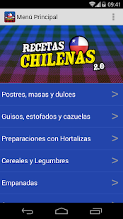 Recetas Chilenas 2.0- screenshot thumbnail