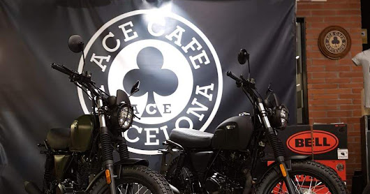 BRIXTON MOTORCYCLES at Ace Cafe Barcelona