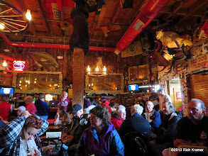 Photo: Inside the Red Dog Saloon.