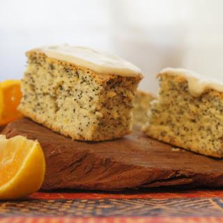 Orange Poppy Seed Cake [Vegan]