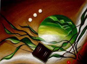 Photo: 321,1, Нетронина Наталья, Фрагмент тетраптих Круговор чувств (1), Масло, бархат (живопись по бархату), 40х30см,