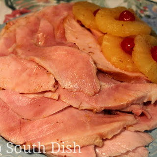 Old School Pineapple Glazed Baked Ham