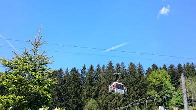 Photo: cable car to restaurant / hotel schliersbergalm