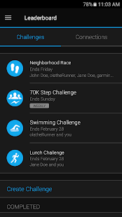 Garmin Connect™ Mobile – Miniaturansicht des Screenshots