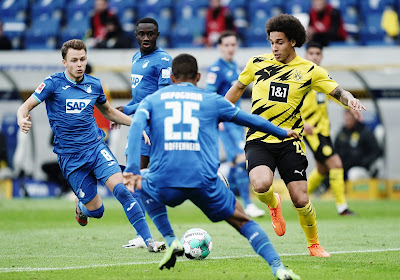 Bundesliga : Witsel et Meunier vainqueurs avec Dortmund, Boyata et Lukebakio battus