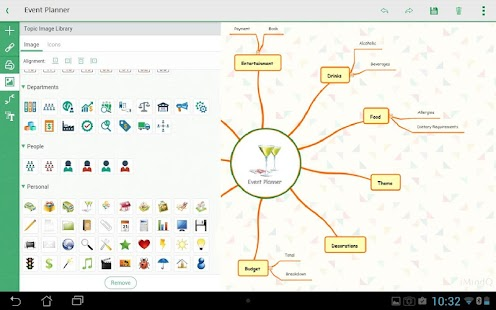 iMindQ (mind mapping) Screenshot