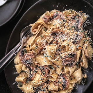 Mushroom Walnut Sauce For Pasta Recipes
