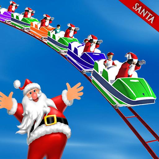 Christmas Santa Roller Coaster Adventure 3D