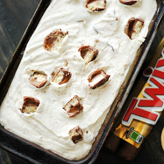 Twix Cheesecake Ice Cream – No Machine Needed!