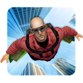 Wing Suit Simulator: Flip Sky Diver Flying Hero