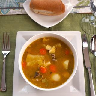 Soup Joumou (Soupe de Giraumon or Pumpkin Soup)