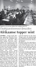 Photo: Oudejaarstoernooi IJmuiden Afrikaanse topper wint 9 januari 2009