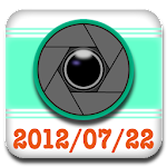 Time Stamp Camera Icon