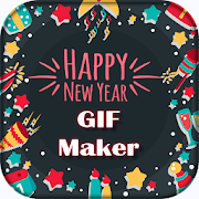 Write Name on New Year GIF Maker