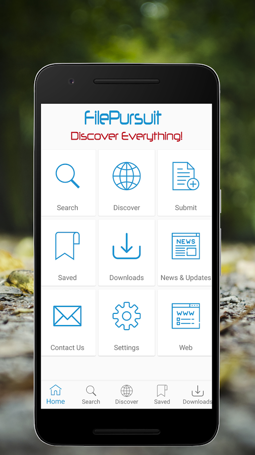 FilePursuit- screenshot
