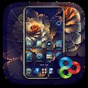 Blue Luxury GO Launcher Theme icon