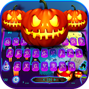 Halloween Pumpkin Keyboard Theme