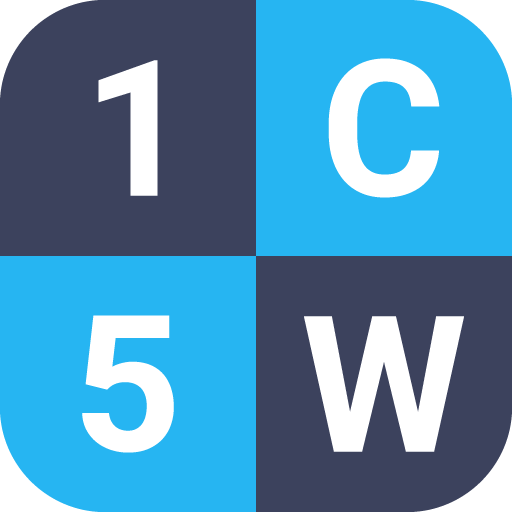 1 Clue 5 Words - Word Game file APK Free for PC, smart TV Download