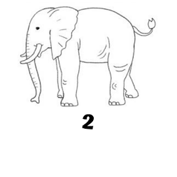 How to draw elephant step by step free APK screenshot thumbnail 4