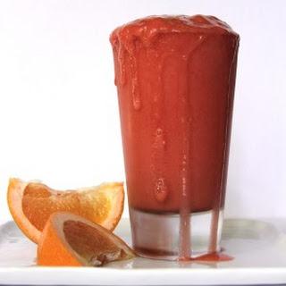 Strawberry Grapefruit Smoothie.
