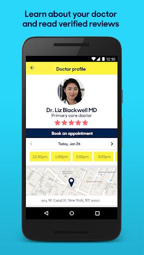 玩免費醫療APP|下載Zocdoc: Find & book a doctor app不用錢|硬是要APP