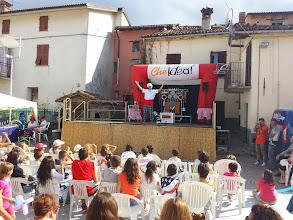 """Photo: """"Le cirque du Chef"""" sul palco di Roccavignale - summer tour 2014"""