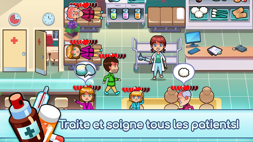 Code Triche Hospital Dash - Simulator Game APK MOD screenshots 2