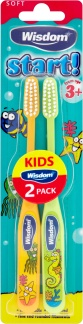 Wisdom Regular Soft Toothbrush - 2 Pack