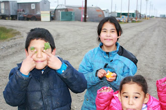 Photo: Peuple Inupiaq, Kaktovik Alaska