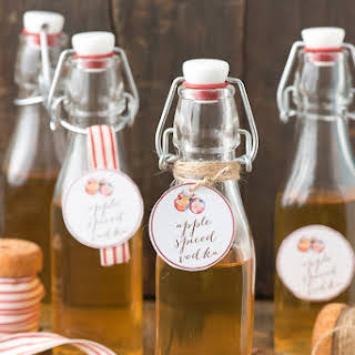 Spiced Apple Vodka (infusion).