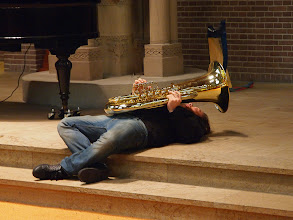 Photo: Tuba floored