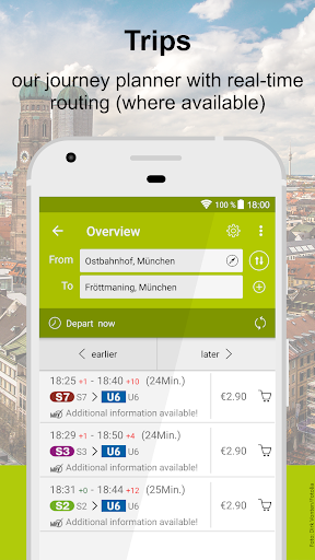 MVV-App u2013 Munich Journey Planner & Mobile Tickets 5.34.13648 screenshots 2