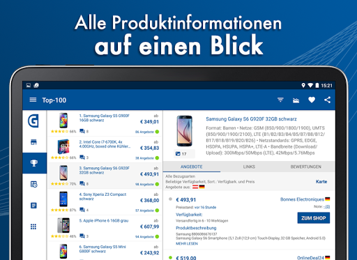 Geizhals Preisvergleich 3.6.0.18 screenshots 9